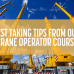 Crane Operator Course -- NCCCO Test-Taking Tips | Train for the Crane