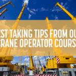 Crane Operator Course -- NCCCO Test-Taking Tips | Train for the Crane